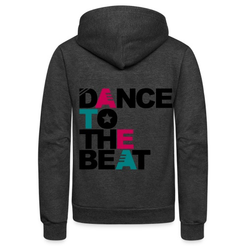 Dance to the beat hoodie - Unisex Fleece Zip Hoodie