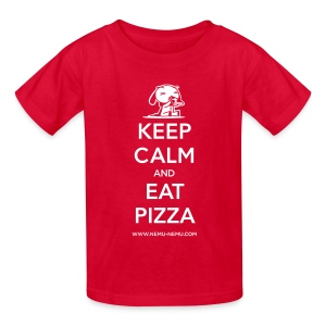 Eat Pizza Children's T-Shirt - Kids' T-Shirt
