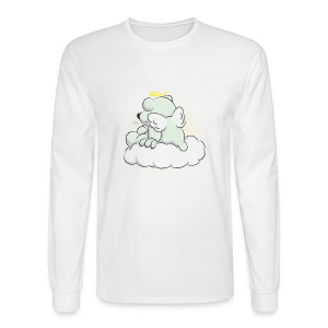 Morte Polar Bear assis sur un nuage T-shirts (manches longues) - Men's Long Sleeve T-Shirt