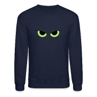 Long Sleeve Shirts ~ Crewneck Sweatshirt ~ Yeux de hibou T-shirts (manches longues)