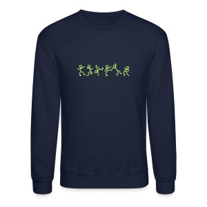 Dancing Stickmen T-shirts (manches longues) - Crewneck Sweatshirt
