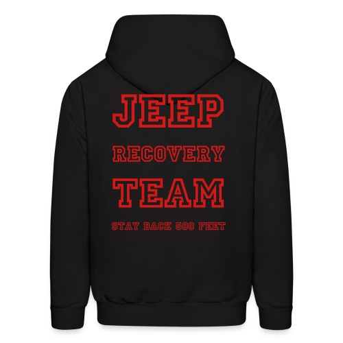 Jeep Recovery Team - Men's Hoodie
