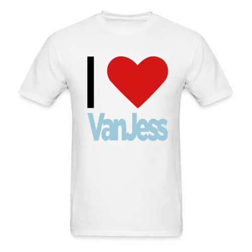 heart_vanjess2 - Men's T-Shirt