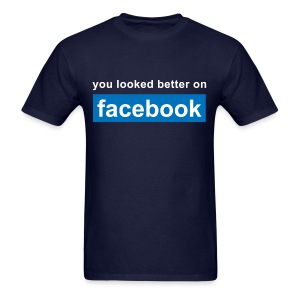 Facebook - Men's T-Shirt