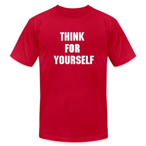 Think  - Men's Fine Jersey T-Shirt