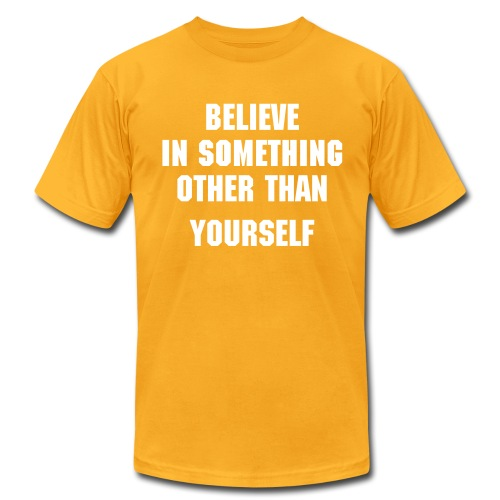 Believe - Men's Fine Jersey T-Shirt