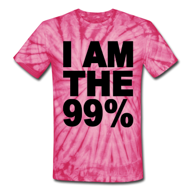 I am the 99% Occupy Wall St T-Shirts
