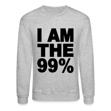 I am the 99% Occupy Wall St Long Sleeve Shirts