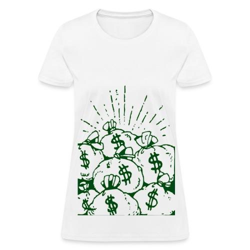 Money Bag - Women's T-Shirt