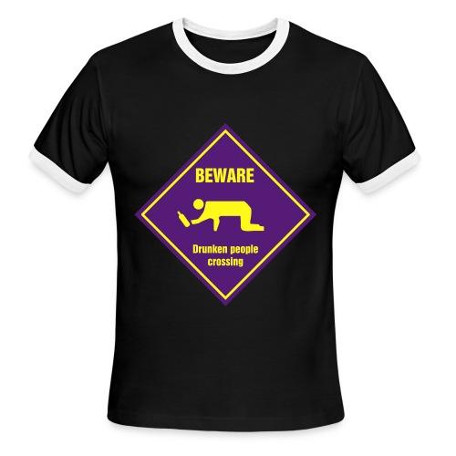 Mens Black Tshirt - Men's Ringer T-Shirt