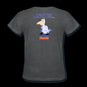 Women's Standard Wt.- Handle on Life-BROKE! Back - Women's T-Shirt