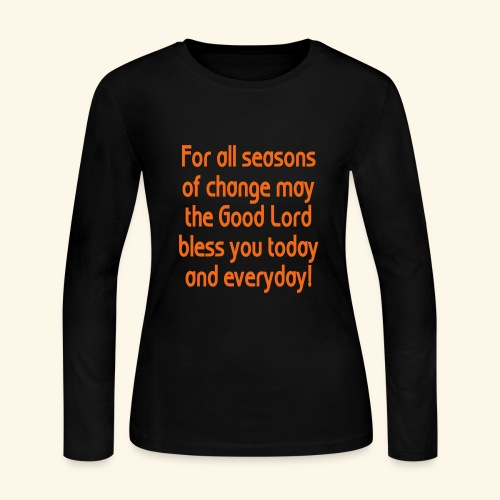 For all seasons that change - Women's Long Sleeve Jersey T-Shirt