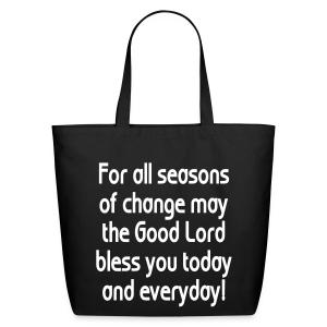 For all seasons that change - Eco-Friendly Cotton Tote