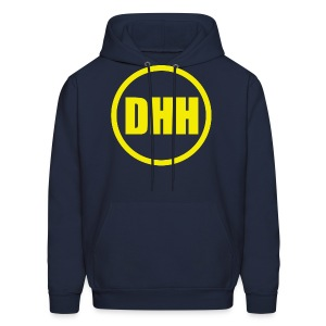 DHH Circle (Yellow) - Men's Hoodie
