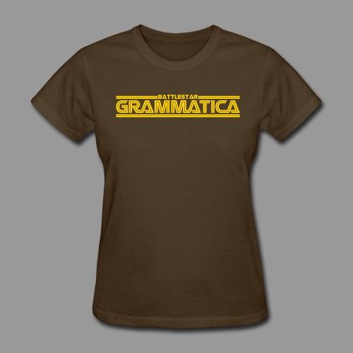 Battlestar Grammatica - Women's T-Shirt