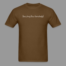 Better Living Through Phonology - Men's T-Shirt
