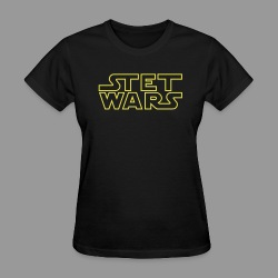 Stet Wars - Women's T-Shirt
