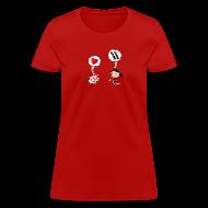 T-Shirts ~ Women's T-Shirt ~ For the Love of Bacon (Regular Cut)