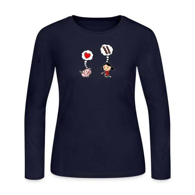 For the Love of Bacon (Long Sleeve)