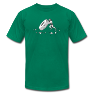 T-Shirts ~ Men's T-Shirt by American Apparel ~ Stone Age Strength (Men's)