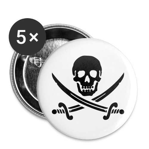 Pirate Button - Small Buttons