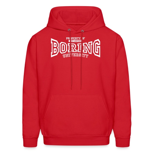 Property of just another boring university - Men's Hoodie