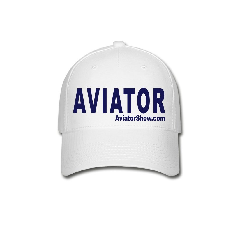 aviator_text - Baseball Cap