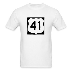 US Rte. 41 LSD - Men's T-Shirt