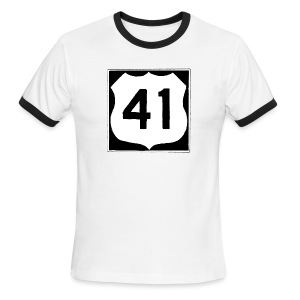 US Rte. 41 LSD - Men's Ringer T-Shirt