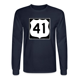 US Rte. 41 LSD - Men's Long Sleeve T-Shirt