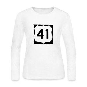 US Rte. 41 LSD - Women's Long Sleeve Jersey T-Shirt