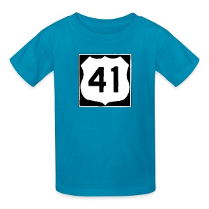 US Rte. 41 LSD - Kids' T-Shirt