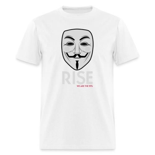 RISE, Gentlemen ! Occupy Wall Street T-Shirt - Men's T-Shirt