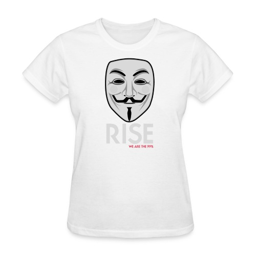 RISE, Gentlemen ! Occupy Wall Street T-Shirt - Women's T-Shirt