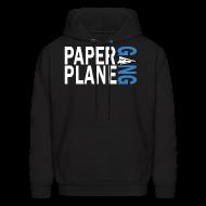 Hoodies ~ Men's Hoodie ~ Paper Plane Gang Blue
