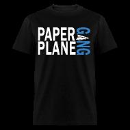 T-Shirts ~ Men's T-Shirt ~ Paper Plane Gang Blue
