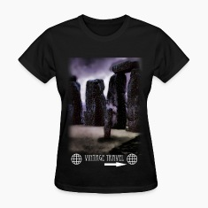 Stone Henge Vitage Travel Short Sleeve Shirt