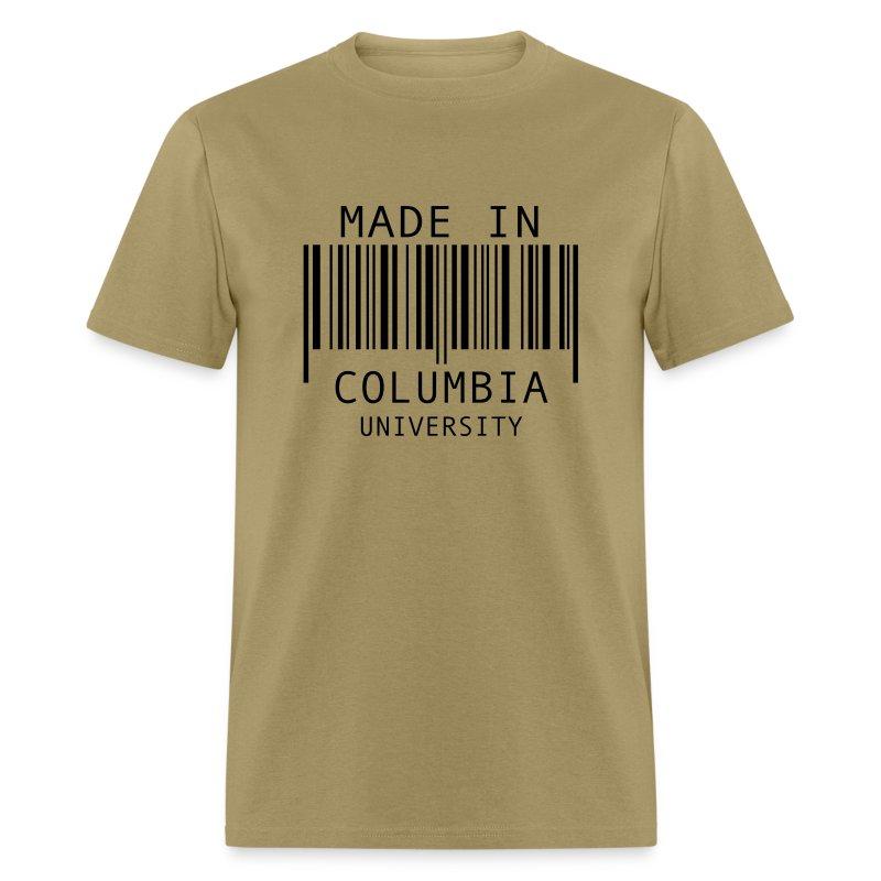 Made In Columbia University T Shirt Spreadshirt