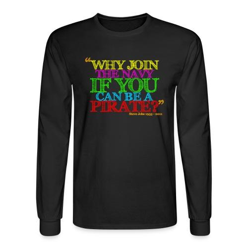 Why Join The NAVI - Men's Long Sleeve T-Shirt