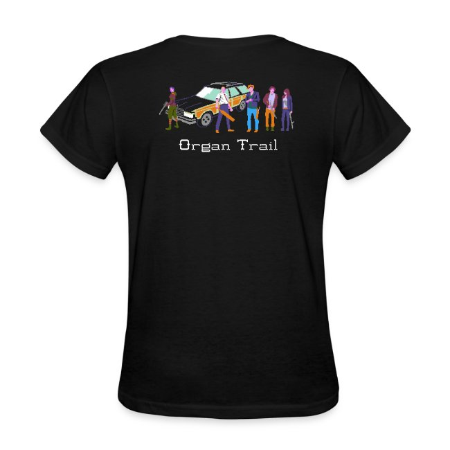 Organ Trail Zombie Horde Shirt (For the Ladies)