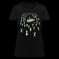 T-Shirts ~ Women's T-Shirt ~ Glow in the Dark Organ Trail Shirt (For the Ladies)
