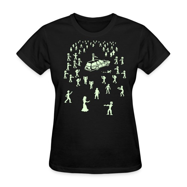 Glow in the Dark Organ Trail Shirt (For the Ladies)