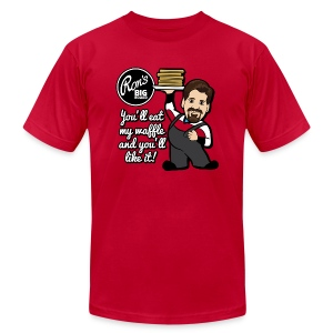Ron's Big Board - Men's T-Shirt by American Apparel