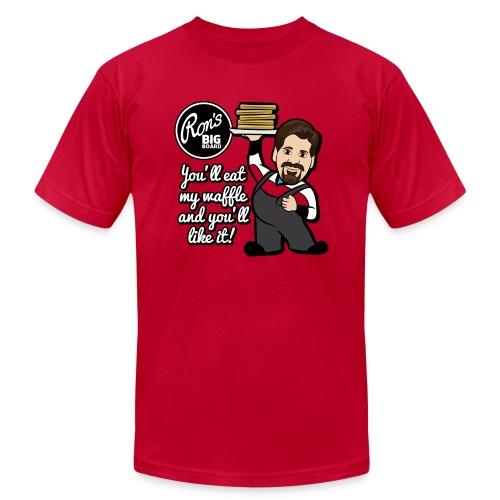 Ron's Big Board - Men's Fine Jersey T-Shirt