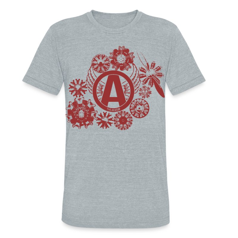 enginesavatardesignred - Unisex Tri-Blend T-Shirt by American Apparel