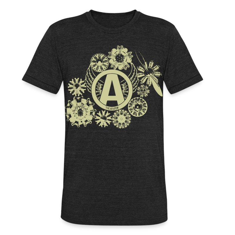 enginesavatardesigntan - Unisex Tri-Blend T-Shirt by American Apparel