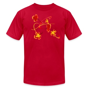 A Fiery Wild Autumn Ride - Men's T-Shirt by American Apparel