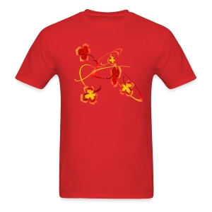 A Fiery Wild Autumn Ride - Men's T-Shirt