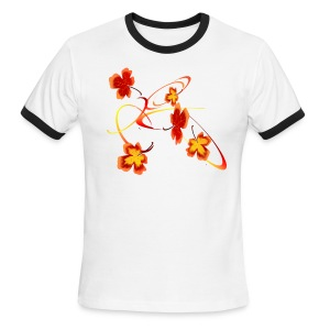 A Fiery Wild Autumn Ride - Men's Ringer T-Shirt
