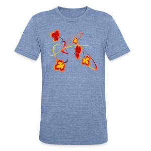 A Fiery Wild Autumn Ride - Unisex Tri-Blend T-Shirt by American Apparel